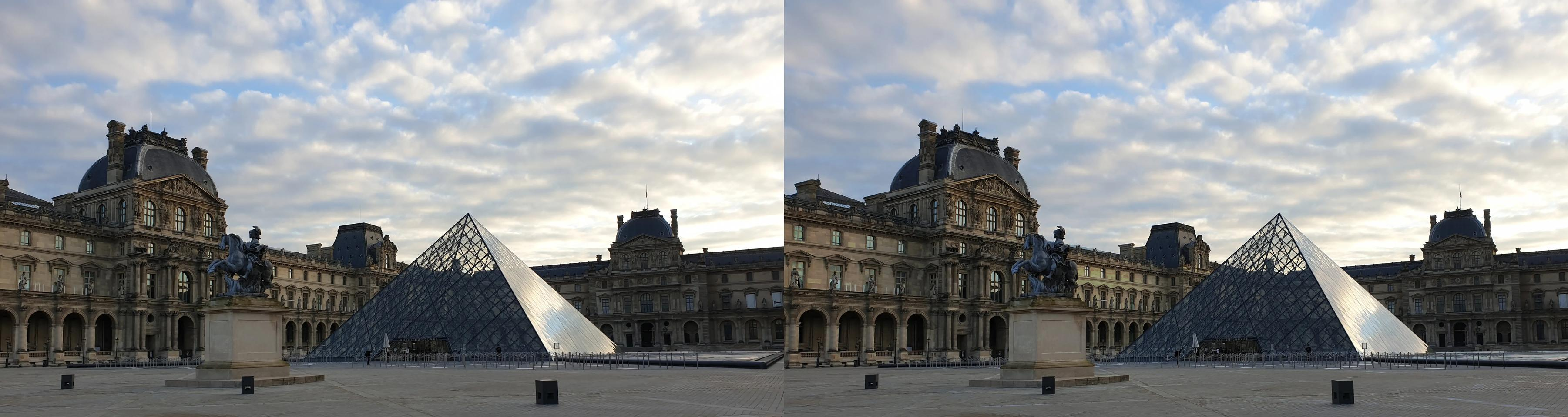 Le Louvre, Paris, in times of covid
