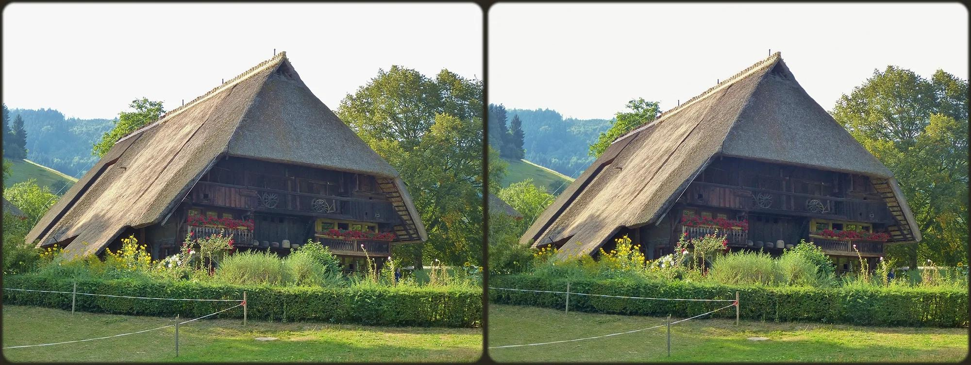 ... Black Forest House 3 - The Vogtsbauernhof farmhouse ...