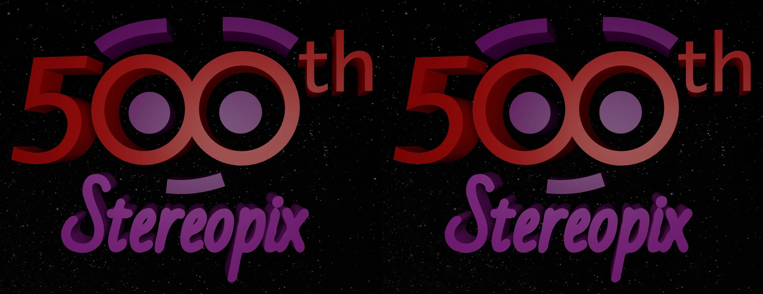 500th stereopix