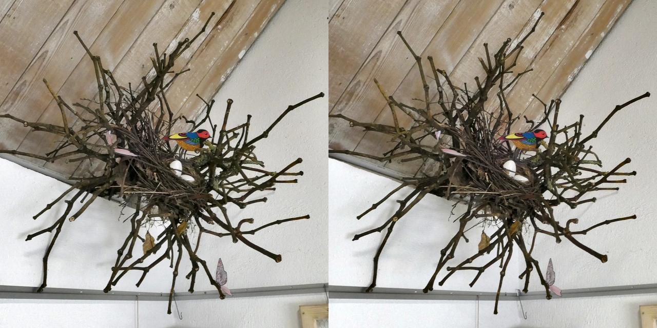 Decorative nest