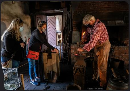 In The Blacksmith's Shop (Again)