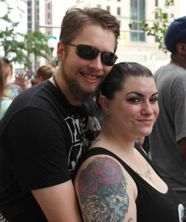 Columbus Pride Parade: Beautiful Couple