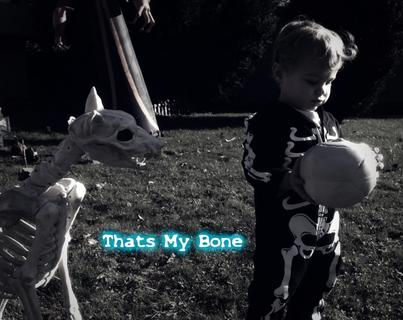 That's my bone