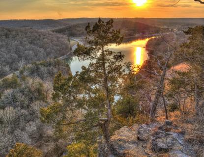 Ha Ha Tonka Sunset, Lake of the Ozarks