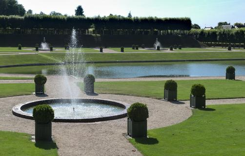 Villandry — The Water Garden