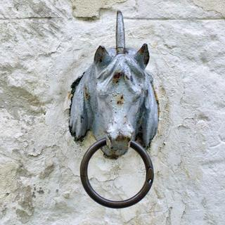 Horse attachment ring