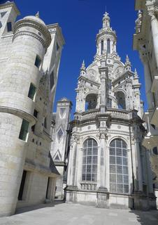 Tower of the double-spiral staircase, Chambord