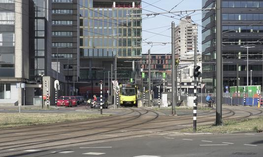 Lightrail to Westraven, Utrecht, Netherlands, May 31th 2020