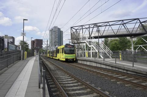 SIG Tram at Kanaleneiland Zuid Utrecht, July 3rd 2020